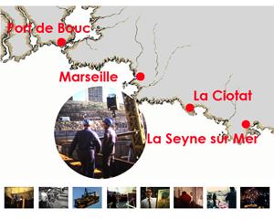 l'industrie navale en Provence