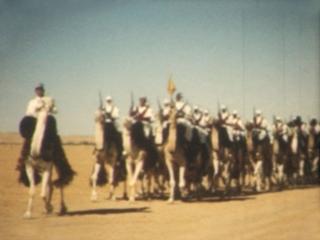 Cinquantenaire de la création des compagnies sahariennes, 1952