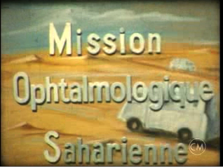 Mission ophtalmologique saharienne, 1950
