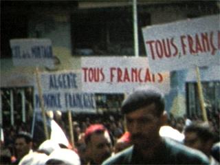 Manifestation à Alger, 13 mai 1958