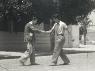 Vie quotidienne quelque part en Algérie française, années 40