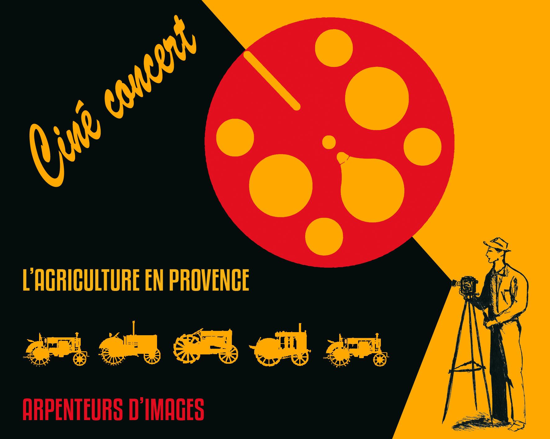 Ciné-concert l'Agriculture en Provence, Miramas - Pôle Patrimoine SAN Ouest Provence