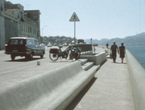 MArseille, corniche Kennedy, années 70